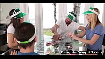 Poker Night Teen Daughter Swapping - DaughterSwapHD.com
