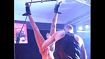 Fetish Club Punishment On Stage of blonde slave... Thumbnail