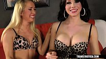 TransErotica.com - Nicki Blue plays with Shemal... Thumbnail