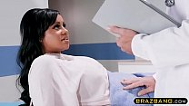 Doctor cures huge tits latina patient who could...