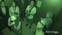 ผู้ชายหน้าหีติดลิฟเกิดเงี่ยน จับผู้หญิงเย็ดค่าเวลา รอประตูเปิด