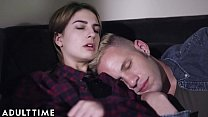 ADULT TIME Teenage Lesbian- Kristen Scott Peeps...