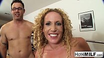 MILF gets fucked and facialized
