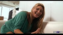 First Time Amateur Blonde MILF
