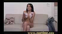 Casting - Latina hottie sucks so well