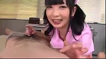 Japanese Nurse Licking Nipple & Handjob 1 - Ful...