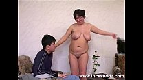 Fat Mature mom and her son Thumbnail