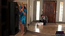 MILF takes care of broken hearthed guy with a h...