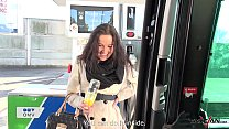 Rescued woman on gas station pay the price with...