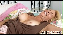 Ramrod fucks mature twat and tits