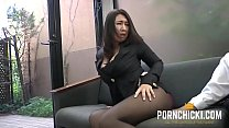 JAV Secretary fucked by her older boss - More a...