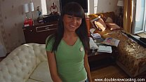 DOUBLEVIEWCASTING.COM - ANTONIA GETS HER BACK-W...