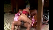 Brazilian granny gets fucked hard! See more at ... Thumbnail