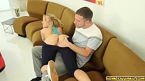 Cock hungry Bailey Brooke sucks step bro deep throat Thumbnail