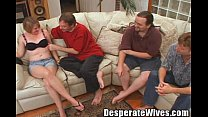Slut Wife Sally Gets Trained to Share All 3 Of ...