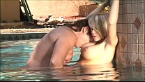 Kagney Linn Karter gets pounded by the pool - f...