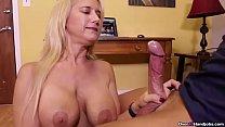 Mature Sexy Ladies Exhibit Their Handjob Skills