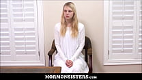 Blonde Mormon Teen Sister Lily Rader Punished B...