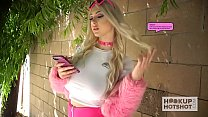 Young blonde Skylar Vox gets trash fucked by on...