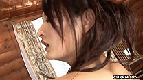 Gorgeous Asian brunette passionately sucks and ... Thumbnail