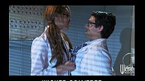 Slutty Asian redhead Jayden Lee rides her boss'...