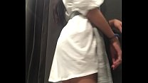 Join me in shopping center changing room, asian...
