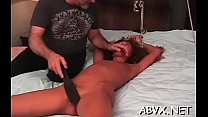 Teen submissive in extreme bondage xxx porn act