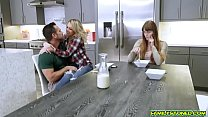 Zoey Monroes pussy fuck doggystyle by step dad
