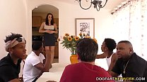 Chanel Preston Interracial Anal Gangbang - Cuck...