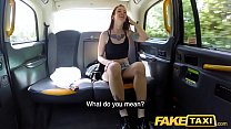 Fake Taxi Spanish tattooed redhead hottie horny for big cock