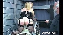 Bbw chick severe stimulation in complete thraldom scenes Thumbnail