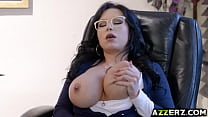 Sexy librarian Sherdian hot sex in the library