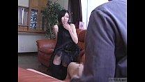 Subtitled CFNM Japanese senzuri femdom leads to...
