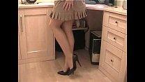 Pantyhose Secretary Thumbnail