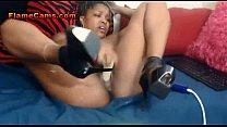 Ebony Amateur DPs Her Thick Ass Thumbnail