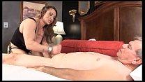 Muscle Goddess BrandiMae Teaches Dirty Old Man ...