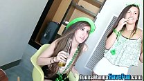Real irish teen spunked