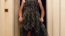 Damenwäscheträger in sexy Spitzenkleid von H&M Thumbnail