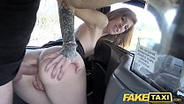 Fake Taxi Busty brunette gets her arse stretche... Thumbnail