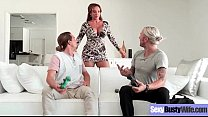 Hard Style Sex Action On Cam Wtih Slut Busty Wi...