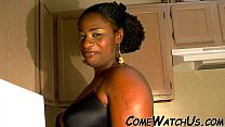 Screenshot SENUAL SEX IN K ITCHEN BY EBONY COUPLE   COUPLE