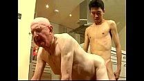 เกย์รุ่นใหญ่กินเกย์วัยละอ่อนเต้ารับผ่านความเสียวมาเยอะเลยติดใจกระดอหนุ่มรุ่นลูก