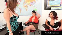 42F BBW, Angelina Castro & Gia Love Do School G...