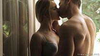 Amazing beauty Alecia Fox enjoys sensual sex on... Thumbnail