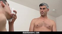 Young twink son fucked by silver fox daddy Thumbnail