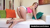 Finger Fucking Natalia Starr Rubs Her Clit To T... Thumbnail