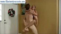 Wenona in hot milf mom challenges son to wrestl...