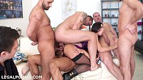 Inside Mira Cuckold. First TAP, ball DAP, DP, D...