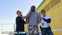 GAY PATROL - Shoplifting Thug Fucked By Police ... Thumbnail