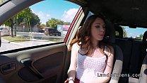 Redhead teen hitchhiker blowjob pov outdoor